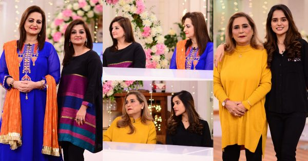 Actors Laila Zuberi and Parveen Akbar Daughters in GMP