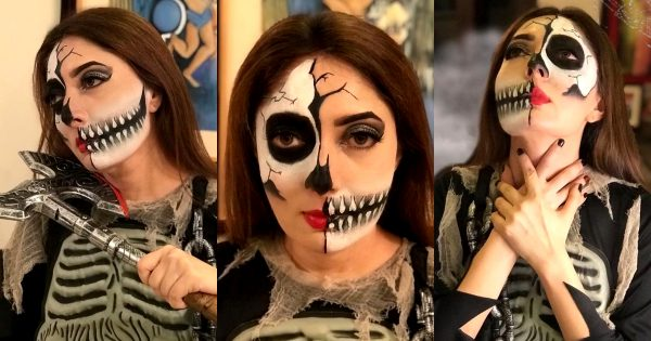 Halloween 2020 Makeover Pictures of Sharmila Farooqi