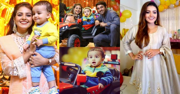 First Birthday Pictures of Actress Isha Noor Son