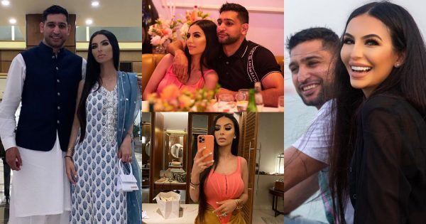Boxer Amir Khan with his Wife Faryal Makhdom – Latest Pictures
