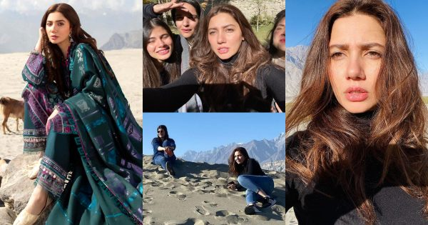 Gorgeous Mahira Khan Latest Pictures from Cold Desert Skardu