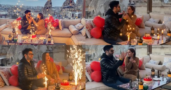 Aiman Khan Celebrates Her Birthday with Muneeb Butt in Turkey