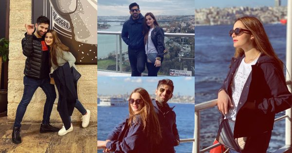 Aiman Khan and Muneeb Butt in Turkey – Day 4 Pictures