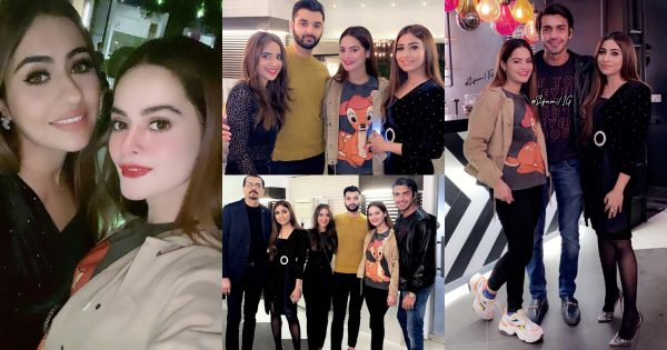 Minal Khan with Friends at Birthday Party of Her Friend Sara