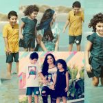 Veena Malik with Her Son and Daughter – Latest Pictures
