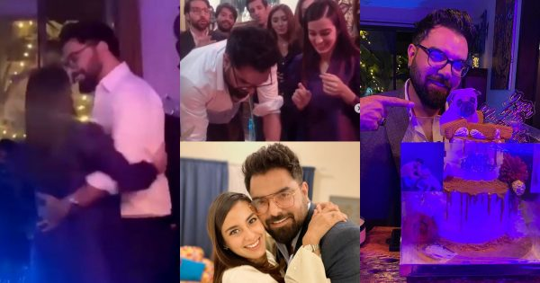 Beautiful Dance Video of Iqra and Yasir from Yasir Hussain Birthday