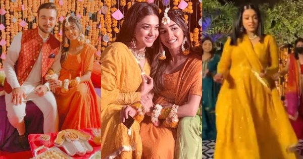 Sanam Jung Dance Video from Her Sister Amna Jung Mehndi