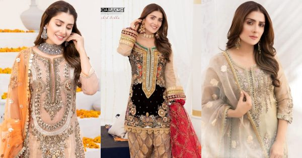 Ayeza Khan Looking Stunning in her Latest Bridal Dresses Shoot
