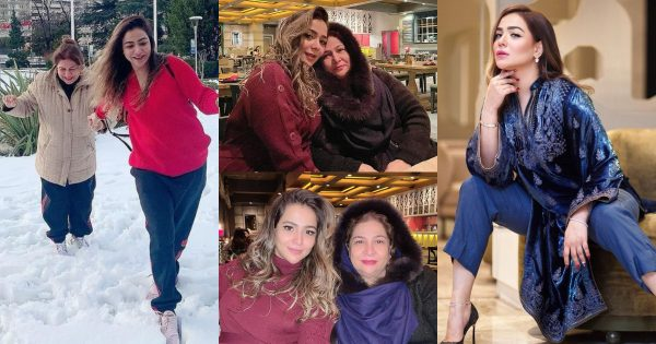 Humaima Malik with her Mother in Turkey – Latest Pictures