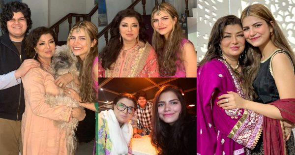 Actress Shaheen Khan Latest Pictures With Family
