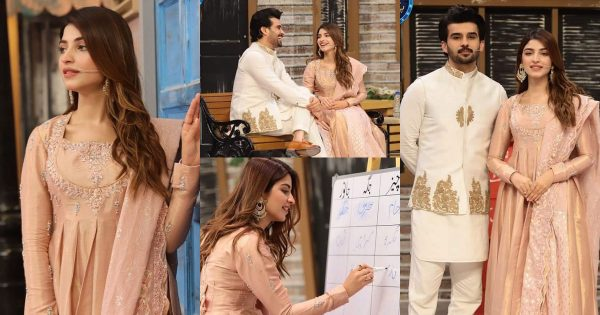 Kinza Hashmi And Fahad Sheikh Beautiful Pictures from Jeeway Pakistan