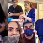 Nadia Khan First Ramazan with her Husband Faysal – Pictures and Video