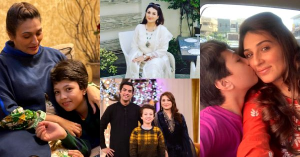 Latest Pictures of Qurat ul Ain with her Son Pehlaaj Iqrar