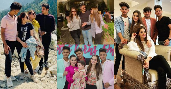Aiman And Minal Khan Lovely Clicks With Their Brothers