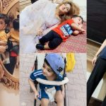 Adorable Pictures of Actress Fatima Sohail with her Son