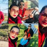 Actress Sadia Imam Latest Beautiful Pictures With Her Family
