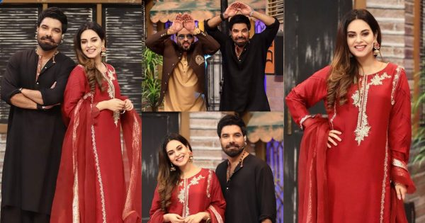 Yasir Hussain And Amar Khan Pictures From Jeeway Pakistan Show