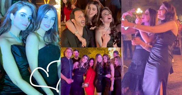 Alyzeh Gabol Throws Her Wedding Dinner Party – Pictures and Videos