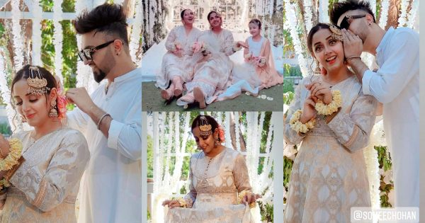 Sanam Chauhdry Beautiful Pictures with Husband from Recent Nikah Event