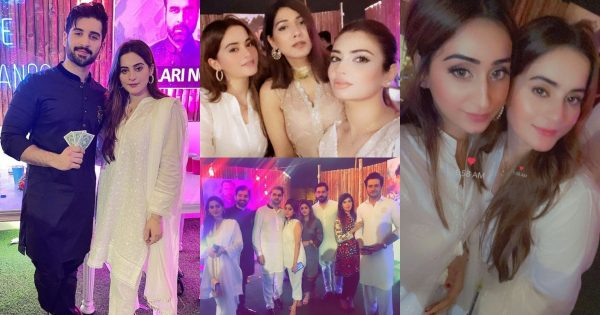 Aiman Khan And Muneeb Butt Spotted At Game Night Party