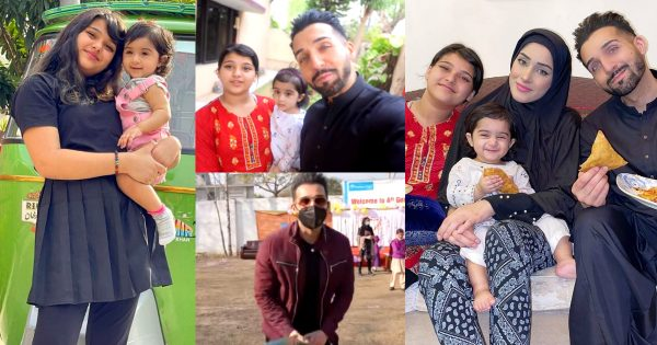 Shaam Idress Spending Good Time in Ramzan with Family
