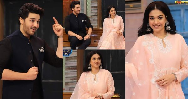 Sanam Jung And Ahsan Khan Pictures from Jeeway Pakistan Show