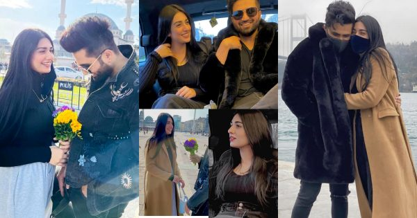 Sarah Khan and Falak Shabbir Beautiful Pictures from Istanbul Turkey