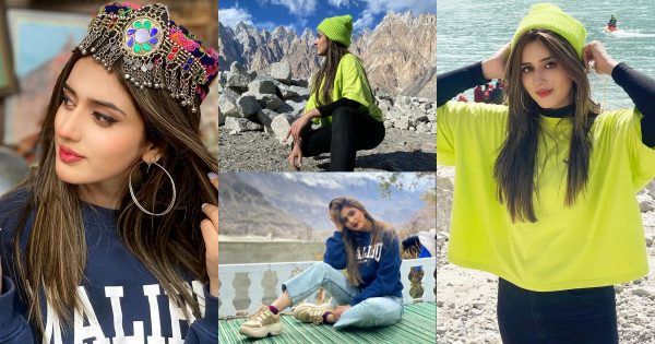 Jannat Mirza Beautiful Pictures from Gilgit Baltistan