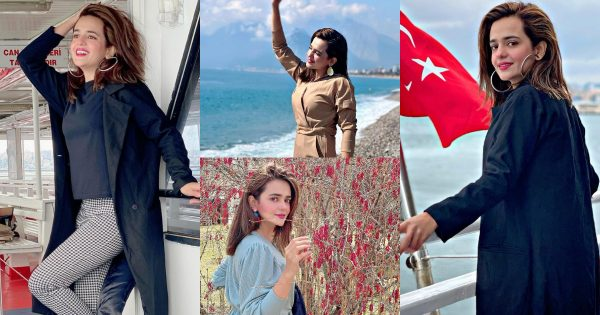 Beautiful Pictures of Actress Sumbul Iqbal from Her Trip to Turkey