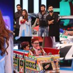 Farhan Saeed And Sonya Hussyn Beautiful Pictures From The Set Of JPL