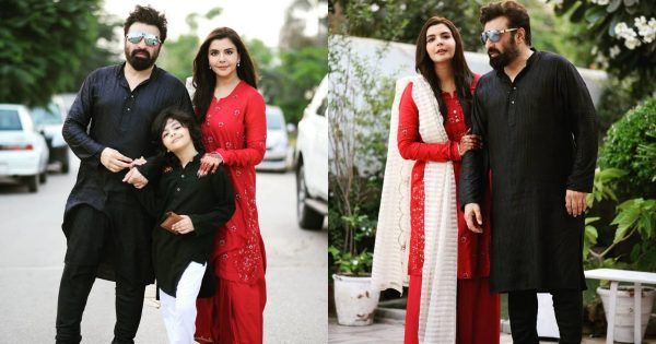 Eid Pictures of Nida and Yasir Nawaz With Her Family