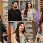 Eshal Fayyaz And Ali Abbas Beautiful Clicks From Jeeway Pakistan Show