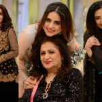 Actresses with their Mothers in Good Morning Pakistan Eid Show Day 3