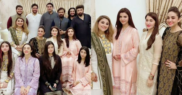Javeria And Saud Hosted Eid Dinner For Close Friends – Beautiful Pictures
