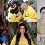 Beautiful Eid Pictures of Natasha Khalid with Family