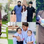 Eid Beautiful Pictures Of Famous Cricketers With Their Families