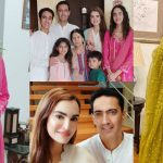 Nadia Hussain Eid Pictures with her Beautiful Family
