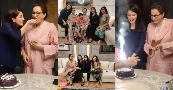 Actress Sadia Faisal Celebrated Her Birthday With Family And Close Friends