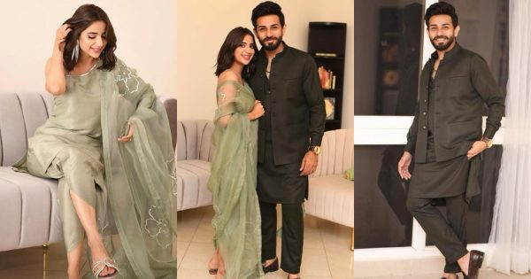 Saboor Aly And Ali Ansari Celebrated Their First Eid Together