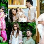 Adorable Eid Pictures of Hasan Rizvi With His Family