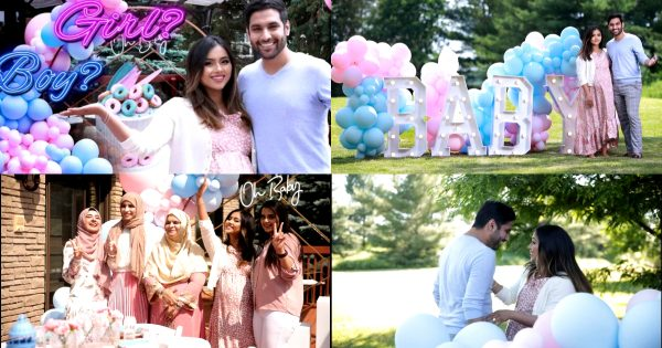 Youtuber Zaid Ali And Yumna Baby Gender Announcement Video