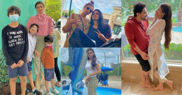 Hira and Mani Vacationing in USA with Family