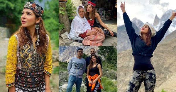 Ayesha Omar Latest Pictures from Her Trip to Northern Pakistan