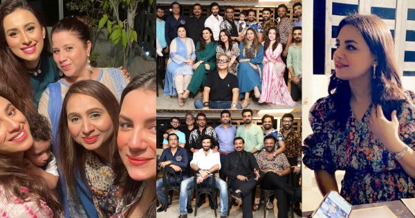 Dinner Pictures of Faisal Qureshi with Friends