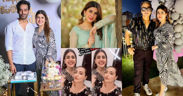 Birthday Party Pictures of Kubra Khan With Friends