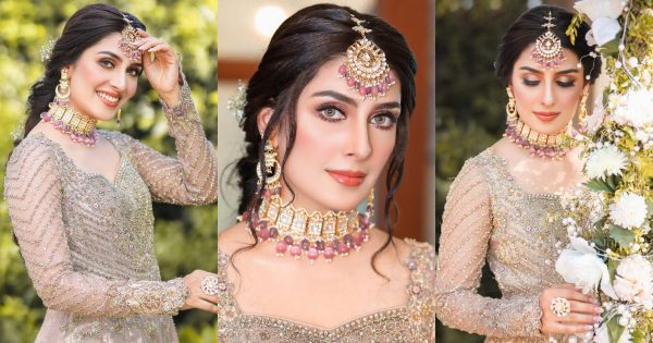 Ayeza Khan Looks Stunting in Traditional Bridal Dress In Her Latest Shoot