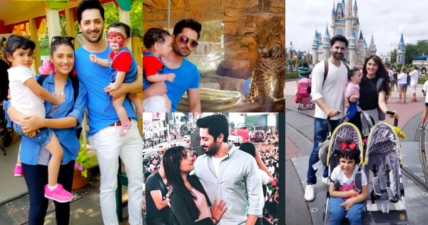 Throwback Pictures of Ayeza Khan with Family From Trip To USA