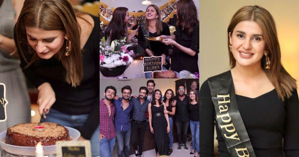 Kubra Khan's Surprise Birthday Party Pictures