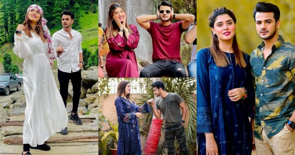New Beautiful Pictures of Kanwal Aftab with her Husband Zulqernain Sikander
