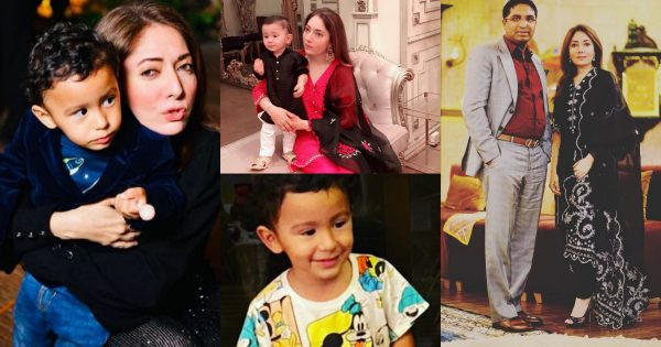 Sharmila Farooqi With Her Adorable Son – Beautiful Pictures